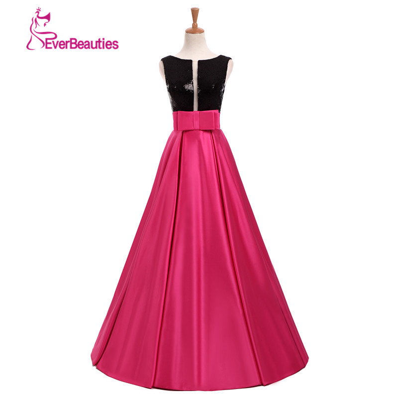 Elie Saab 댄스 파티 드레스 긴 2019 Vestido Formatura V 넥 구슬 공 가운 새틴 야간 파티 드레스 긴 졸업 드레스