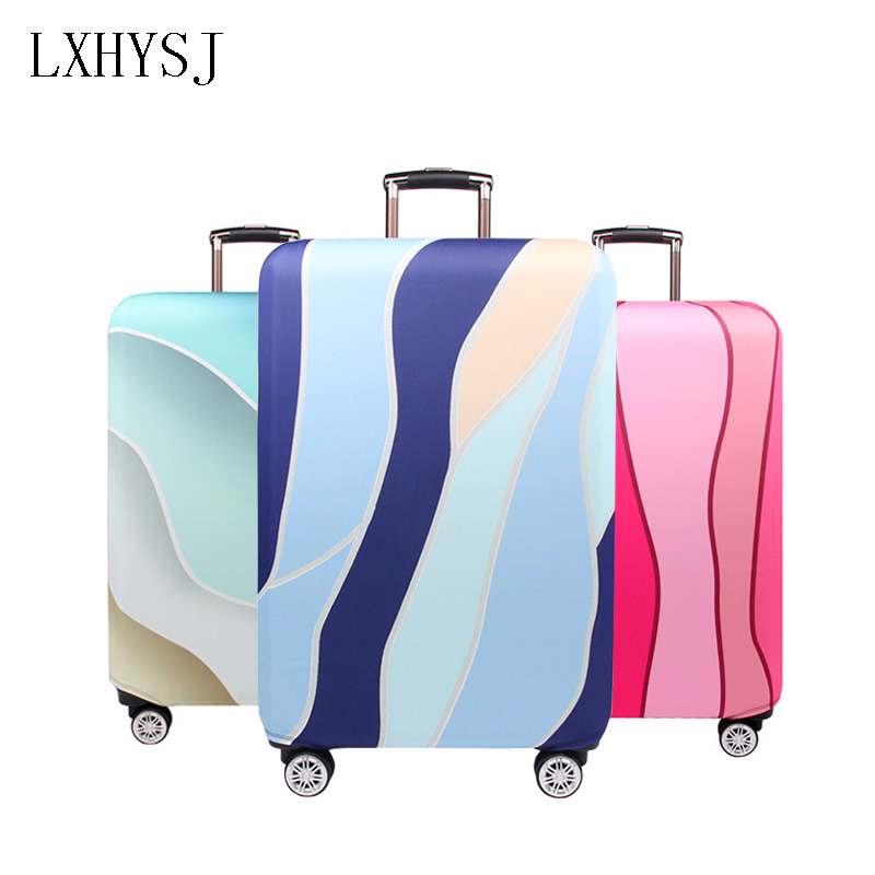 Travel Elastic Fabric Luggage Protective Cover Suitable18-32 Inch  Trolley Case Suitcase Dust Cover Travel AccessoriesTravel Elastic Fabric Luggage Protective Cover Suitable18-32 Inch  Trolley Case Suitcase Dust Cover Travel Accessories