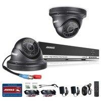 Hotting SANNCE Home Security CCTV System HD 1080N 8CH DVR 2X720P 1 0MP AHD High Resolution