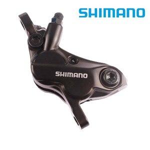 Image 2 - 시마노 MT520 새로운 오일 디스크 브레이크 클램프 원래 상자와 4 피스톤 산악 자전거