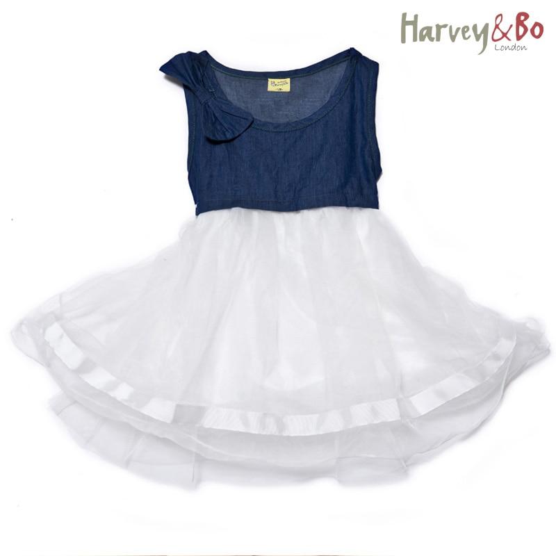 ✓Harvey & Bo verano niñas princesa vestido del bebé niño niños ...