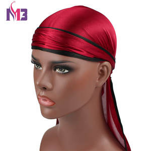 Headwear Bandana Durag Turban Hat Headband Hair Accessories