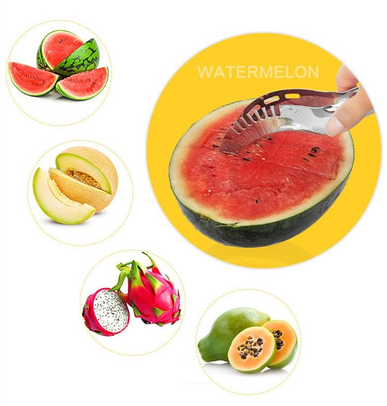 Daugiafunkcis nerūdijančio plieno vaisių arbūzo pjaustymo peilis - Virtuvė, valgomasis ir baras - Nuotrauka 3