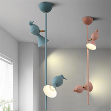 Modern LED Ceiling Lamps Macarons Magpie Iron Color Ceiling Lights Children Bedroom Living Room Hotel Lighting Fixture Luminaire modern led ceiling lights living room kids room lamps iron avize luminarias luminaire led home lighting bedroom boy girl room