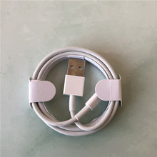 10pcs/lot 1m/3ft 3.0mm AAA Quality USB Charger Charging Cable With aluminum foil Data Cable for iPhone X 8 7 6s 6 plus with box