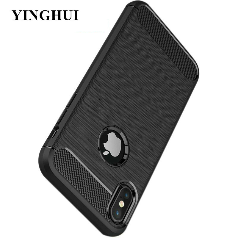 100% Quality Xr Xs Max Luxury Carbon Fiber Protective Back Cover Case For Iphone Xs Max Xr 5 5s Se X 10 Xs Max Xr Mobile Phone Shell