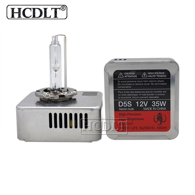 HCDLT אמיתי 35 W D5S OEM HID קסנון פנס הנורה 5500 K לבן כל אחד D5S קסנון נטל קיט 9285 410 171 שדרוג מקורי 25 W