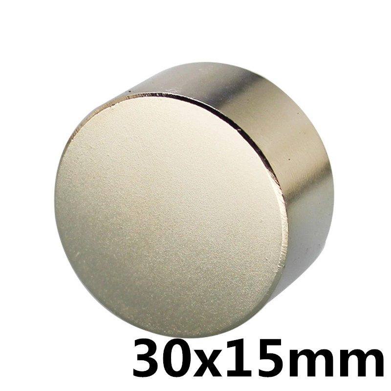 1pcs bulk small round NdFeB disk magnet diameter 30mm x 15mm strong rare earth neodymium iron boron magnet1pcs bulk small round NdFeB disk magnet diameter 30mm x 15mm strong rare earth neodymium iron boron magnet