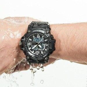 Image 5 - Youpin ساعة رقمية خارجية مزدوجة العرض ، مقاومة للماء ، جديدة ، بحركة مستوردة ، اتصال متعدد الوظائف ، شاشة مزدوجة الوقت