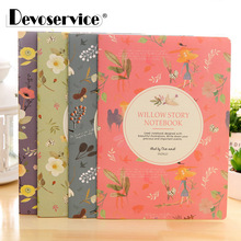 цена на 4Pcs/Pack Cute Kawaii Retro Small Pocket Notebook Creative Mini Notepad Stationery Circle/Square Pattern Office School Supplies