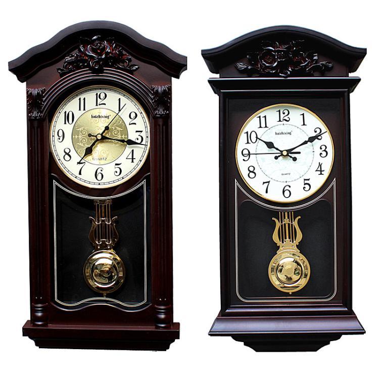 Europe horloges murales antiques pour salon 50cm de haut vintage montres murales horloges mur décor à la maison ferme décor shabby chic