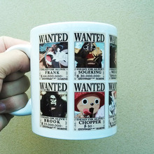 One Piece Wanted Bounty Coffee Mug