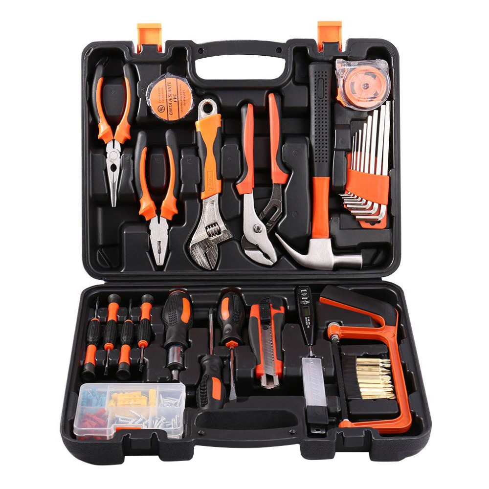 100 Pcs Robust lightweight Precision Maintenance Repair Tool Set Hardware Instrumental Sets Multifunctional Home Tools Kits 2018 100pcs maintenance repairing hardware instrumental sets robust lightweight multifunctional hand tools kits fast delivery