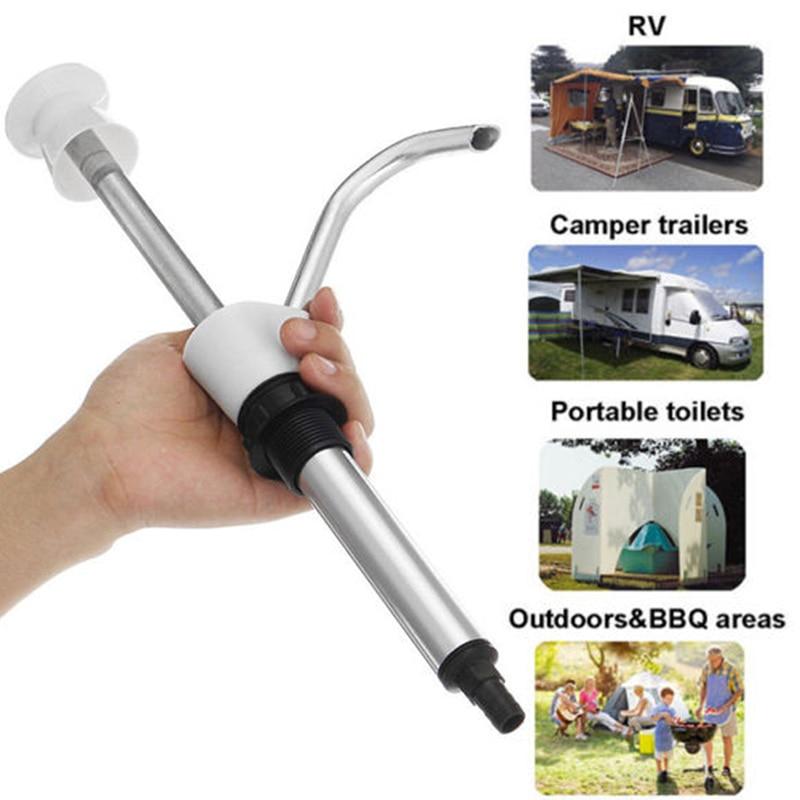 1 Pc Caravan Sink Water Hand Pump Tap Camping Trailer Motorhome Replacement Tool