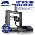 2016 I3V2.1 wanhao duplicadora impresora 3d más vendido