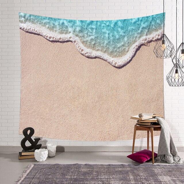 3D Ocean Print Tapestry 6