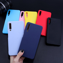 Case For Samsung Galaxy A5 2017 Case Candy Color Cover For Samsung A7 2018 A3 A5 A7 2017 A6 A8 Plus A50 Soft TPU Silicone Fundas все цены