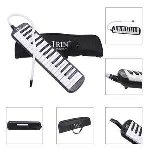 Музыкальный инструмент RU, 32 клавиши, черная мелодия, для любителей музыки, для начинающих, подарок с сумкой для переноски