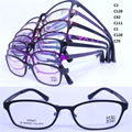 Wholesale 8603 new style unique shape full-rim with silicone nose pad ultra lightweight ULTEM optical frames free shipping