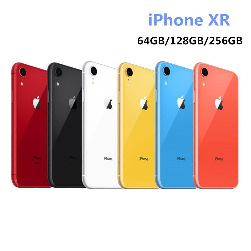 "New Apple iPhone XR 3GB ROM 64GB/128GB/256GB Original Unlocked Mobile Phone LTE 6.1"" Hexa Core"