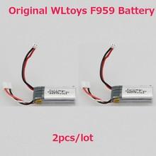 2pcs lot WLtoys F959 font b Battery b font XK A600 font b Battery b font
