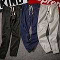 2017 pantalones de los hombres ocasionales venta caliente masculina de pantalones hip hop pantalones harem ropa de la marca de calidad prendas de vestir exteriores ocasional de los hombres joggers