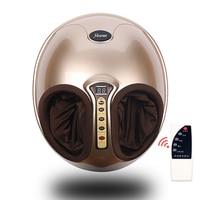 Free Shipping RU Shiatsu Reflexology Vibrating Roller Foot Massager Health Massage Infrared Heating Electric Automaton Heating