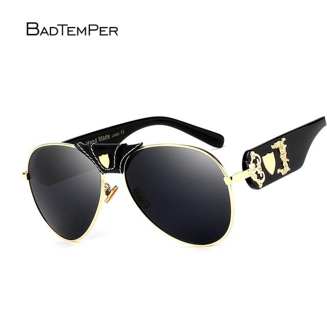 fd852ffc641 Badtemper Polarized Sunglasses Women Fashion Summer Hand Made Uv400  Steampunk Glasses Black Vintage Retro Shades Eyewear Style