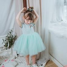 Girls Dress Fashion Childrens Clothing Cotton Mesh Princess Summer Baby Clothes