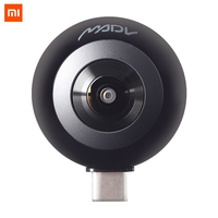 Xiaomi MADV Mini 360 Degree Panorama VR Camera 13MP CMOS Sensor 5.5K HD Video Live Stream Enabled Android Version USB Type C