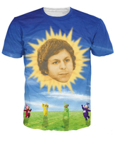 Ceratubbies T Shirt Babies Face Sun In Kids Cloud Teletubbies 3d Cartoon Character Print Summer Tshirt