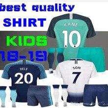 9657c9ad009 18 19 adult kit Tottenhames Home away 3rd Soccer Jersey KANE LAMELA JANSSEN  TRIPPIER DEMBELE Son SPURS kits Football Shirts