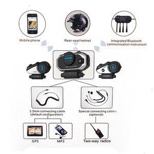 Image 2 - Phiên Bản Tiếng Anh Dễ Dàng Rider Vimoto V8 Mũ Bảo Hiểm Tai Nghe Bluetooth Xe Máy Stereo Tai Nghe Dành Cho Điện Thoại Di Động Và Định Vị Vô Tuyến