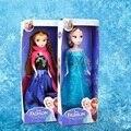 Moda princesa elsa anna anna elsa muñecas muñecos de peluche suave lindo bebé niñas cenicienta muñecas olaf niños toys venta caliente