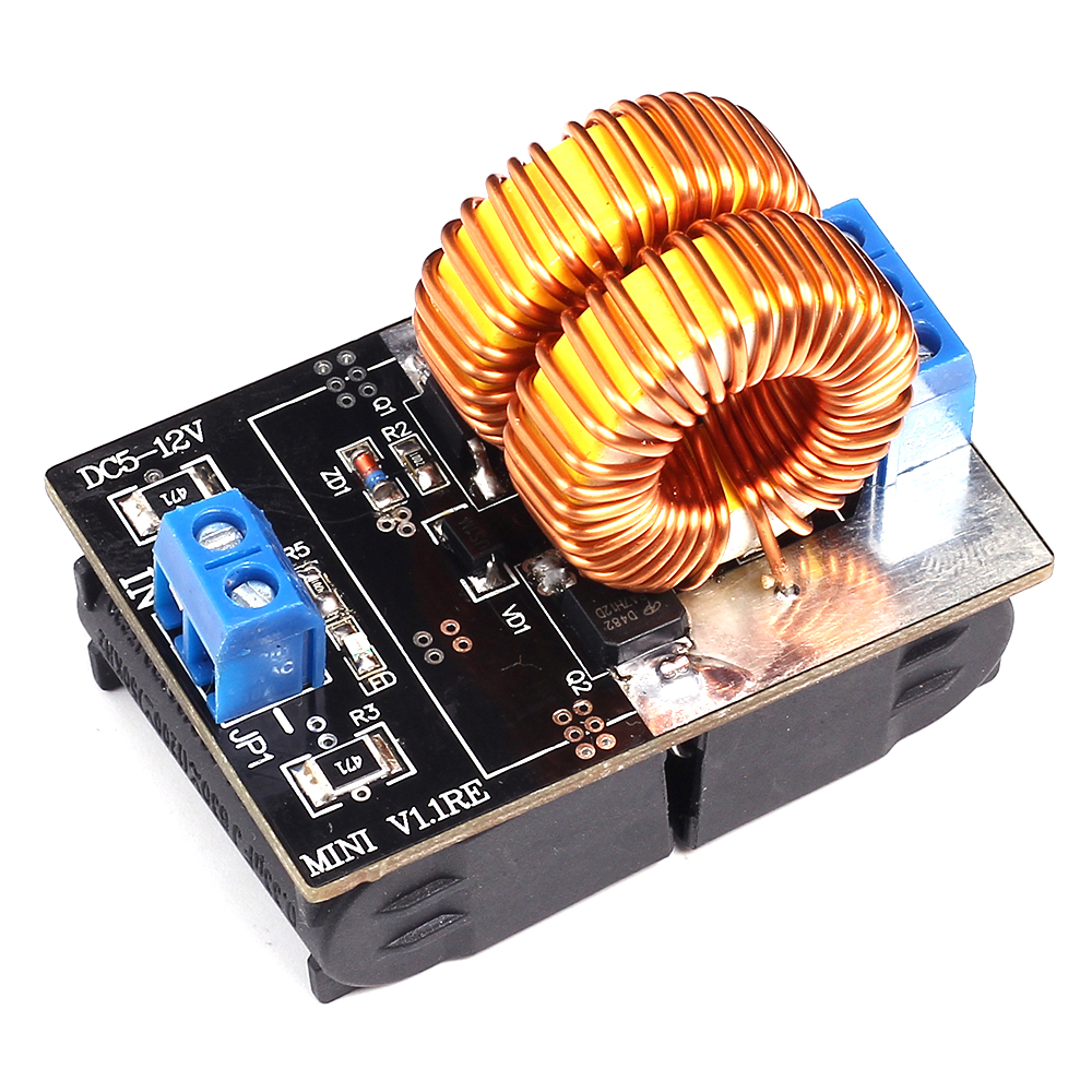 Mini Dc 5 15v 150w Zvs Induction Heating Board High Voltage Circuit Diagram Of Heater Generator With Coil For Tesla Jacobs Ladder Driver In Integrated Circuits From Electronic