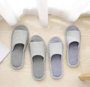 2019 zapatillas de hombre # AS64-73 zapatillas de algodón azul caqui para hombres zapatos zapatillas de alta calidad para el hogar