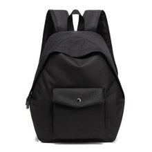 Women Backpacks Schoolbags Solid Color Canvas Backpacks Leisure Travel Bag Retro Campus Backpack Mochila(China)