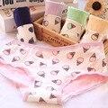[Quecoo] Клубника ice cream cone сообщества новый женский underwear ladies underwear хлопок хлопок трусики
