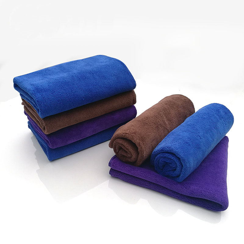 1PCS car wash towel microfiber absorbent clean dry cloth care detailed polishing cleaning plush