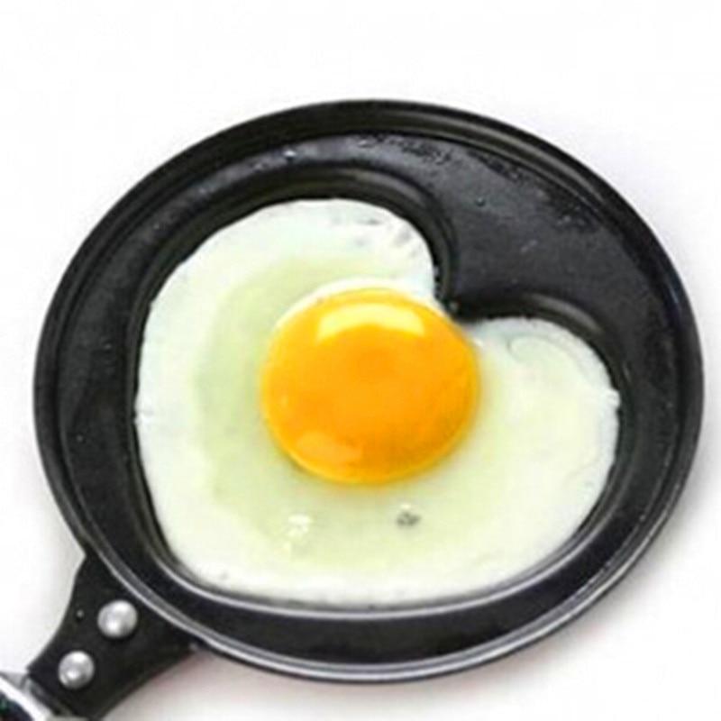 DIY mini breakfast omelette is creative love omelette pan non-stick wholesale gift egg pan