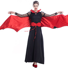 Deluxe Vampire Costume Cosplay For Women Halloween Adult Carnival Party Suit Dress Up