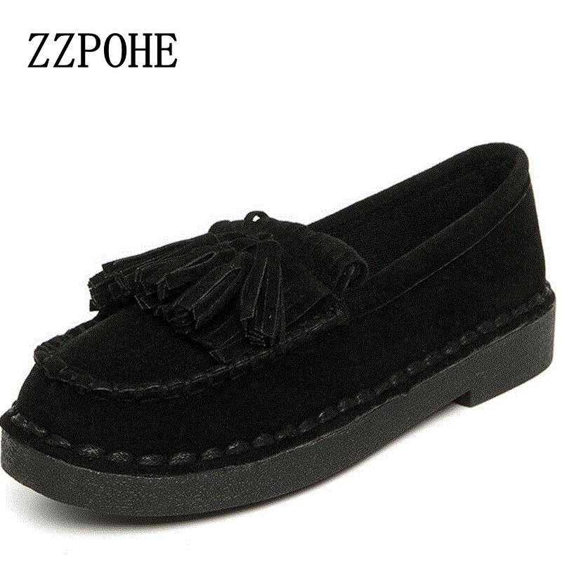 ZZPOHE Spring autumn new women casual shoes soft bottom non-slip mom handmade wild fashion comfortable Women's Flat Shoes hevxm 2017 spring new ladies fashion casual flat bottom high white shoes women hollow comfortable breathable embroidered shoes