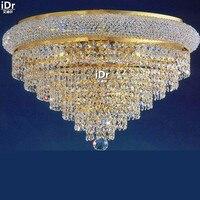 High Quality Crystal Ceiling Light 20 Lights Flush Mount Ceiling Light K 9 Crystal Chandelier Ceiling