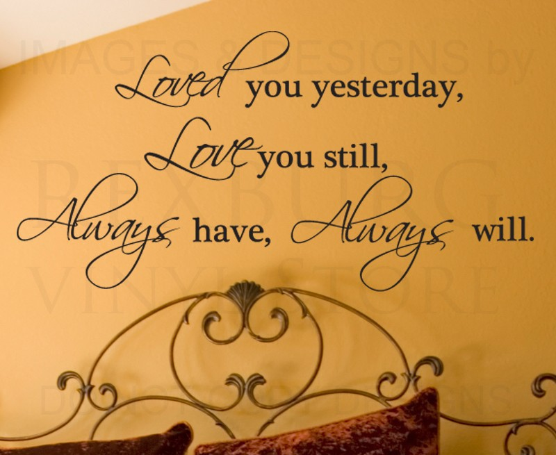 L still love you quotes