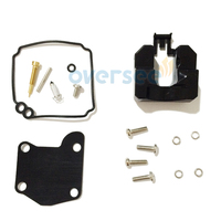 OVERSEE 63V W0093 00 00 Carburetor Repair Kit For 9 9HP 15HP YAMAHA Outboard Engine 2Stroke