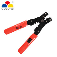 цена на HS-202B Mini Multi-function Crimping pliers Various Terminal Crimping Tools Snap Ring Terminals Crimpper