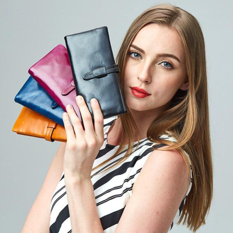 Womens Wallets And Purses carteira feminina portefeuille femme de marque de luxe geldbeutel damen genuine leather womens wallet
