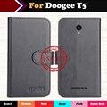 Горячая! Doogee T5 Case 2017 Новый 6 Цветов Роскошные ультратонкий Кожаный Exclusive 100% Особый Телефон Распространяется на Случаи + Отслеживая