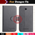 Hot!! Doogee T5 Case 2017 New 6 Colors Luxury Ultra-thin Leather Exclusive 100% Special Phone Cover Cases+Tracking
