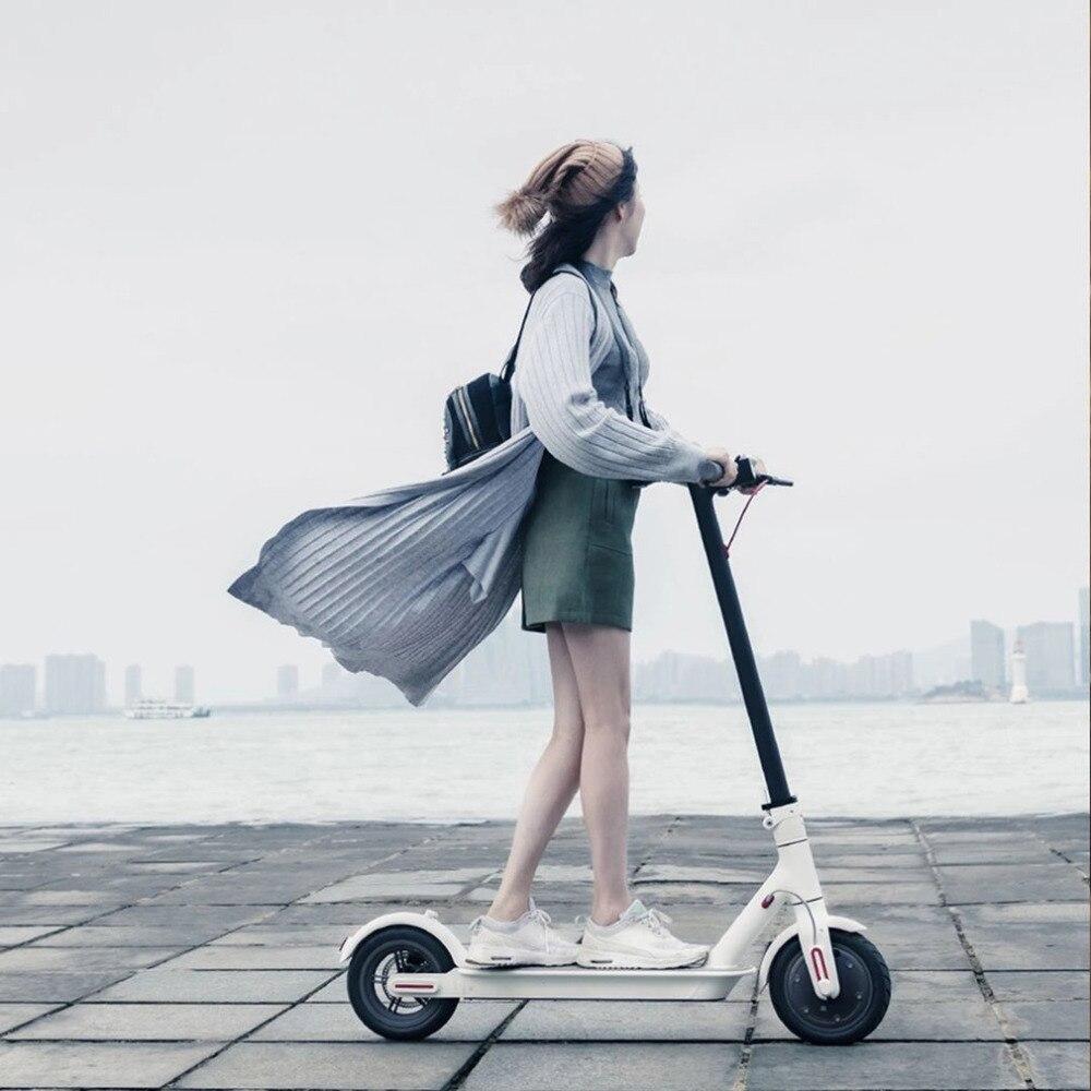 2018 Xiaomi электронных Скутер 2 колеса складной Смарт скутер скейтборд ХОВЕРБОРДА взрослых 30 км Батарея велосипед самокаты